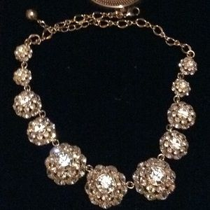 Kate Spade Gold Crystal Necklace